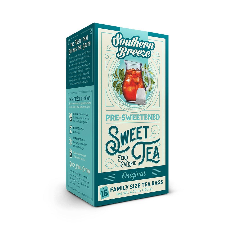 Amazon.com : Southern Breeze Decaffeinated Sweet Tea, 16 Count ...