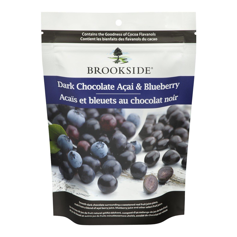 Amazon.com : BROOKSIDE Dark Chocolate Açai and Blueberry Flavors ...