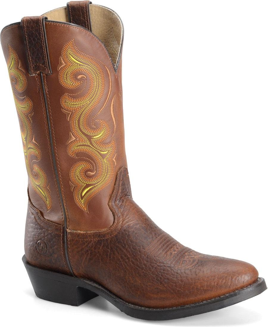 Double H Men's 12'' Work Western DH4417,Rust Mustang Leather,US 10 D by Double-H Boots (Image #1)