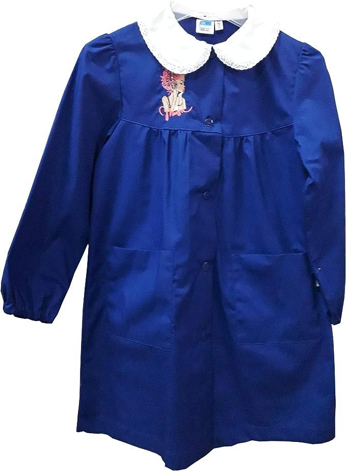 siggi Grembiule Bambina Colore Blu Misura 6 Anni Art.33GR2868