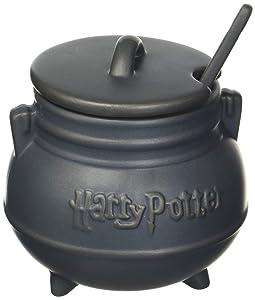 Harry Potter 48013 Cauldron Soup Mug with Spoon, Standard, Black