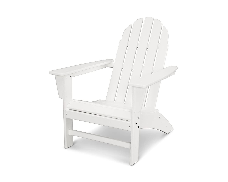 POLYWOOD Vineyard Adirondack Chair White