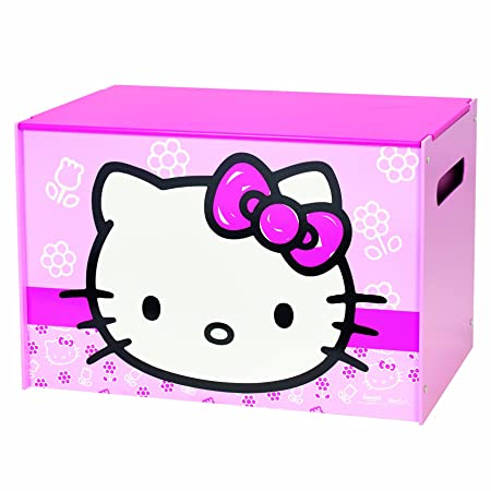 d1e9f7622 Hello Kitty Toy Box by HelloHome: Amazon.co.uk: Kitchen & Home