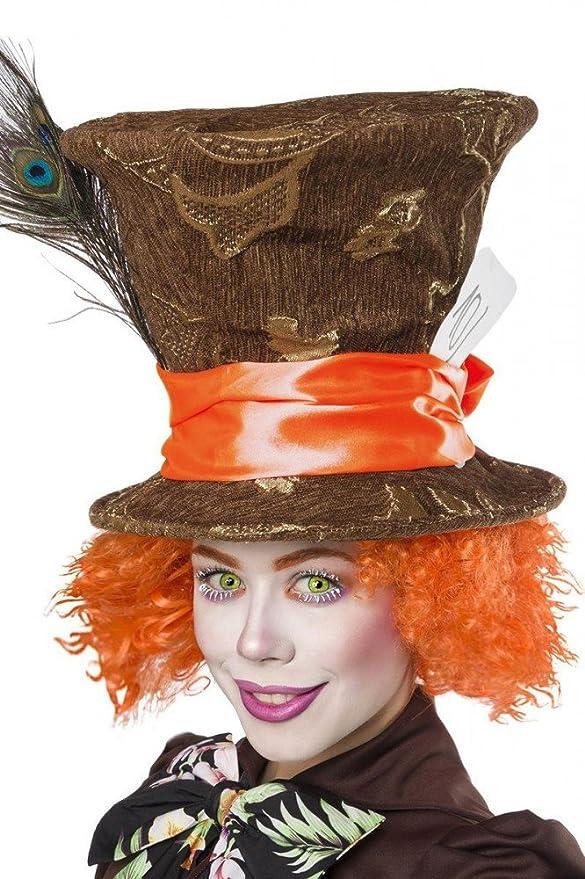 shoperama Super Deluxe Mad Hatter para Disfraz de Mujer del Sombrerero Loco de Alicia en el país de Las Maravillas: Amazon.es: Juguetes y juegos