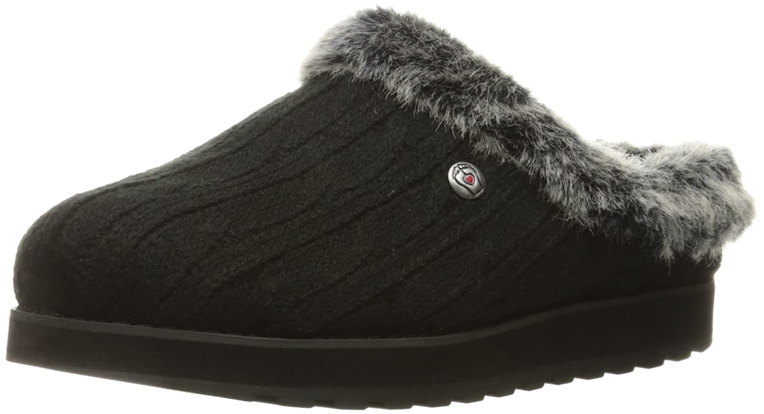 Amazon.com | Skechers BOBS Women's Keepsakes Ice Angel Slipper | Mules &  Clogs