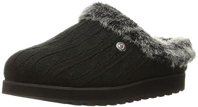 Skechers Bobs from Women's Keepsakes Ice Angel Slipper, Black, ...