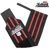 Schiek シーク リストラップ 24インチ ブラック フリーウェイトトレーニング用 並行輸入/米国直輸入品