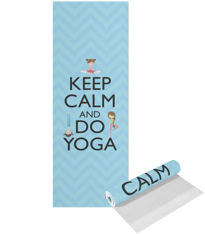 Amazon.com : RNK Shops Keep Calm & Do Yoga Yoga Mat ...