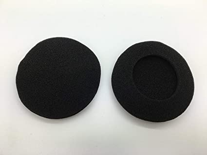 a64137ecf2d1 Amazon.com  (1 Pair) Replacement Plantronics Foam Ear Pad Cushion ...