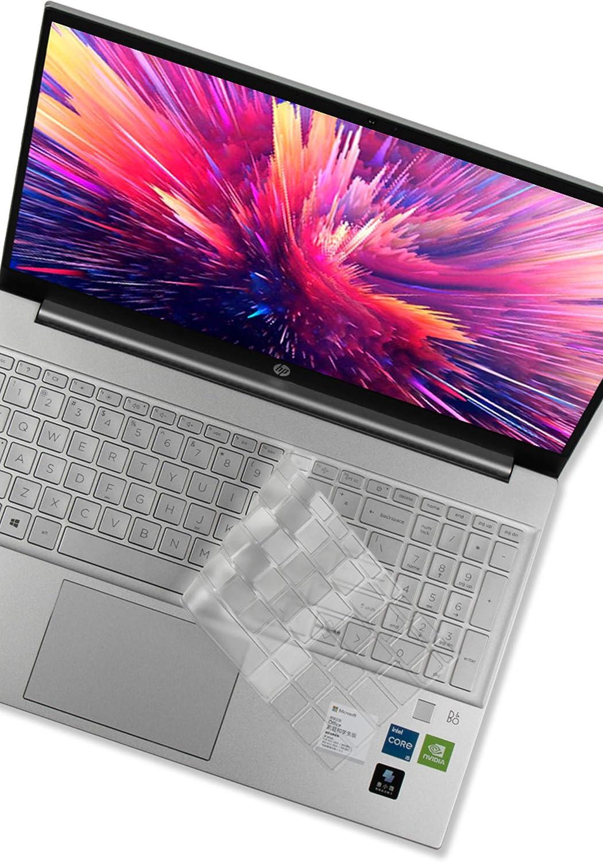 Keyboard Cover for HP Pavilion 15-eg 15-eh, HP 15-eg0010nr 15-eg0066nr 15-eg0069nr 15-eg0079nr 15-eg0073cl 15-eg0025od 15-eh0095nr 15-eh0010nr 15z-eh000 Series Laptop - TPU