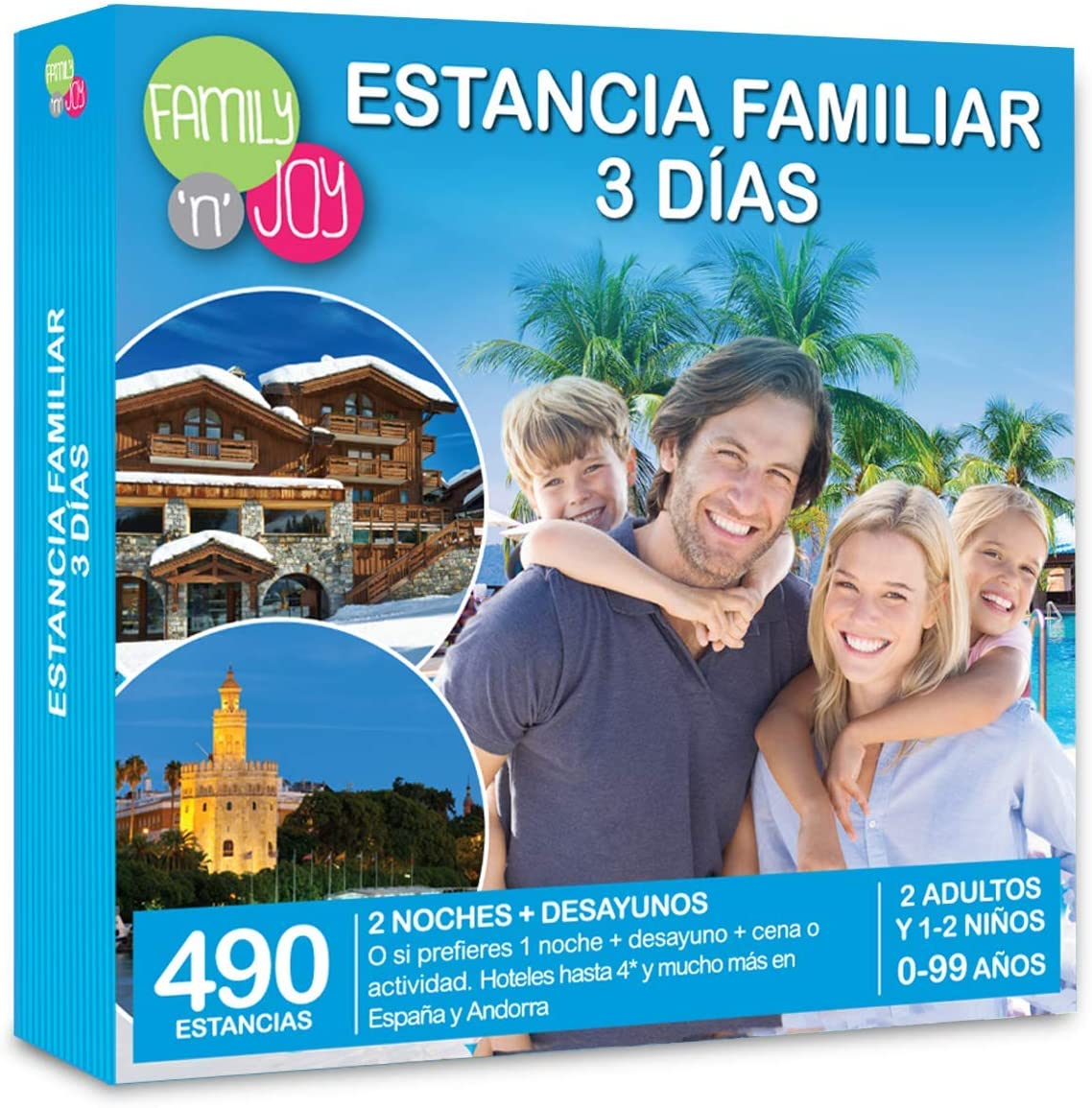 family n joy estancia familiar 3 dias