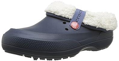 f86a1642e6b9e0 Crocs Blitzen III Unisex Mules Slip On Shoes (4 UK) (Navy