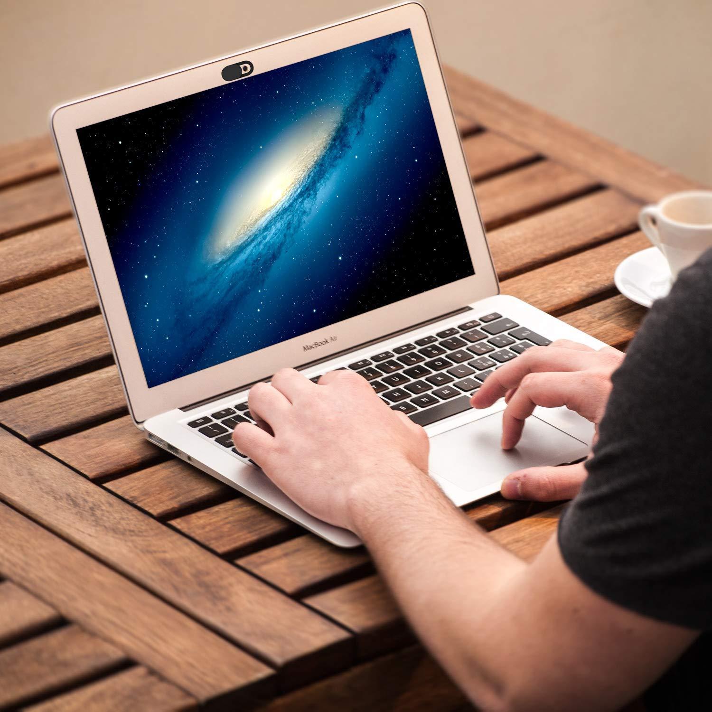 C/ámara,Laptop iPad Mac Foonii Webcam Cubierta,3 pi/èces Webcam Cover(Desecante y Toallitas,para Macbook Pro Port/átil,PC Surfcase Pro,Tablet,iPhone7//8 Plus,Protege su Privacidad y Seguridad