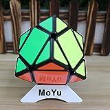 MoYu Skewb Speed Magic Cube Puzzle Toy MoYu Skewb Puzzle cube Black + One MoYu Cube Bag