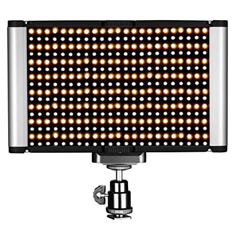 Amazon neewer dimmable bi color led with standard cold shoe neewer dimmable bi color led with standard cold shoe professional on camera video light for workwithnaturefo