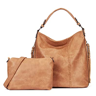 IBFUN Women Handbags Ladies Purse PU Leather Shoulder Bags Hobo