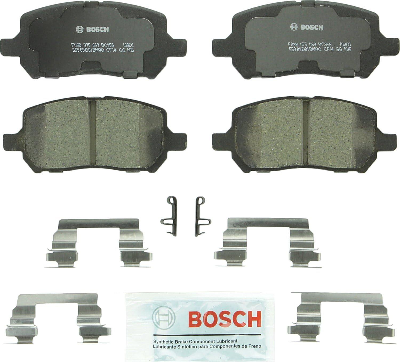 Complete Set of 4 Rear Premium Ceramic Disc Brake Pads For Chevy Pontiac Saturn