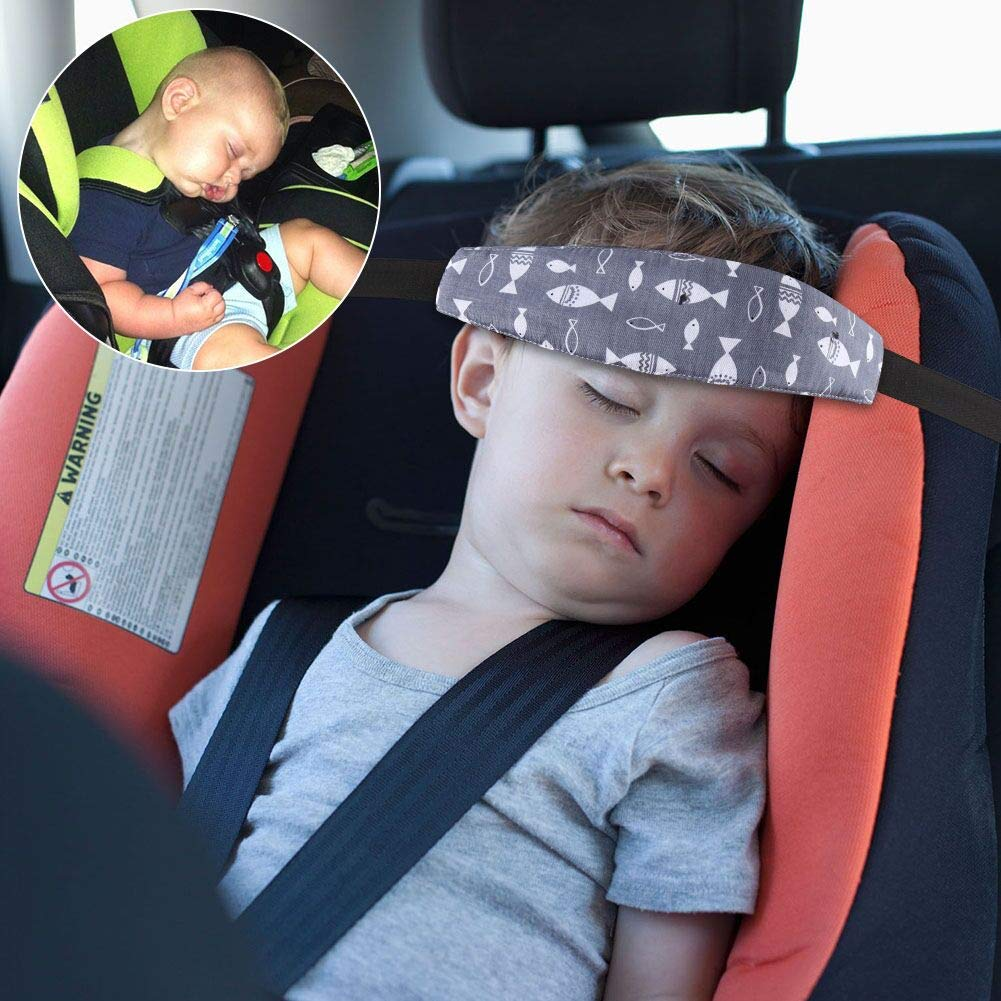 Accmor Baby Car Seat Head Support Band Strap 2 Pack For Seats Stroller Headrest Sleeping