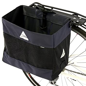 Axiom Hunter Dlx Grocery Bag Bike Panniers And Rack