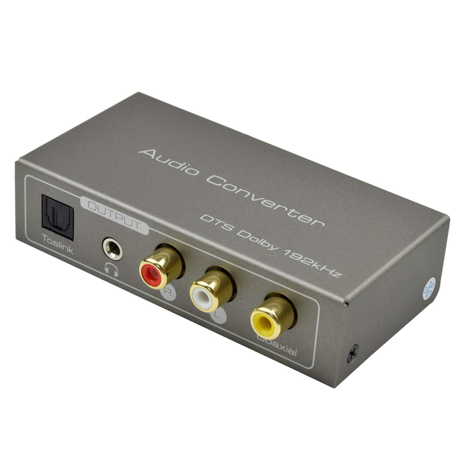 HDMI ARC Audio Adapter,Musou 192KHZ HDMI ARC Audio Extractor HDMI ARC or Digital Optical Toslink Coaxial to Optical or Analog 3.5mm L/R Stereo Audio Splitter