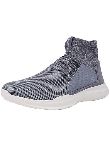 6cd548b4ea7b Skechers Mens GO Run Mojo Athletic   Sneakers Grey