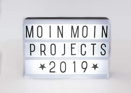 Projects Panorama Caja de luz LED de plástico, incluye pilas ...