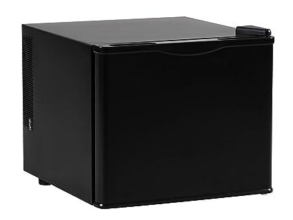 Leiser Mini Kühlschrank Mit Gefrierfach : Amstyle minikühlschrank liter minibar schwarz freistehender
