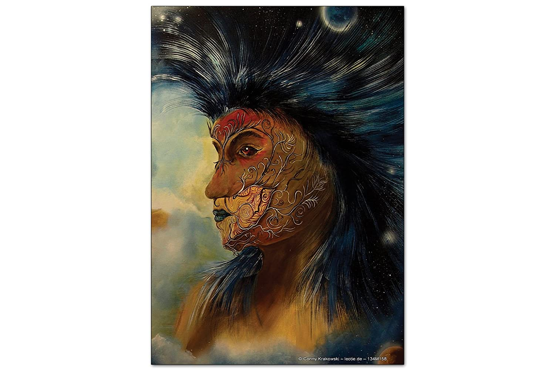 Iman Nevera Diversión Krakowski Pintura de la cara: Amazon.es ...