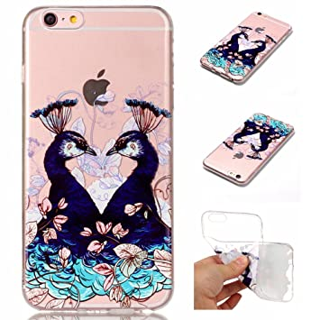coque iphone 6 paon
