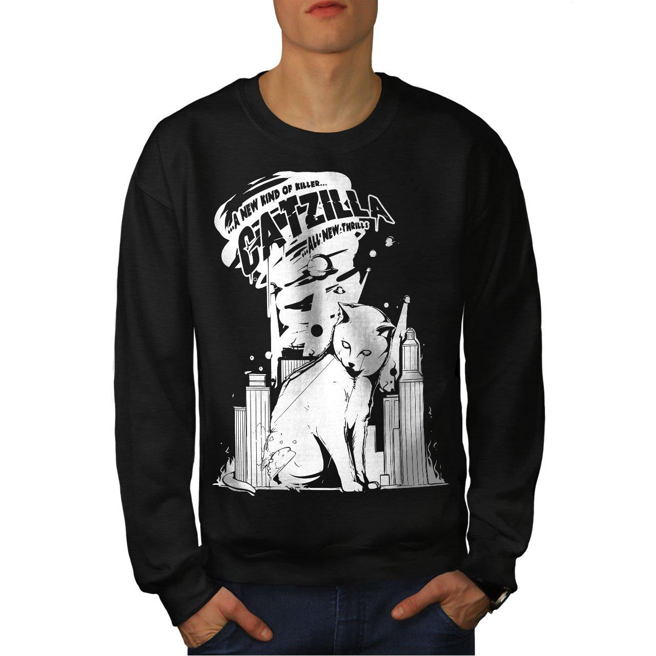 wellcoda Quote City Funny Funny Mens Sweatshirt Casual Jumper