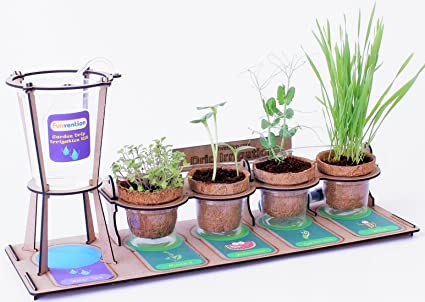 Buy funvention garden drip irrigation kit diy science educational funvention garden drip irrigation kit diy science educational toy multicolour solutioingenieria Image collections