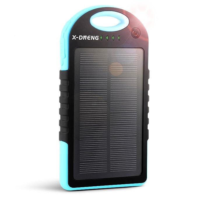 Cargador solar, x-dneng 12000 Solar Power Bank copia de ...