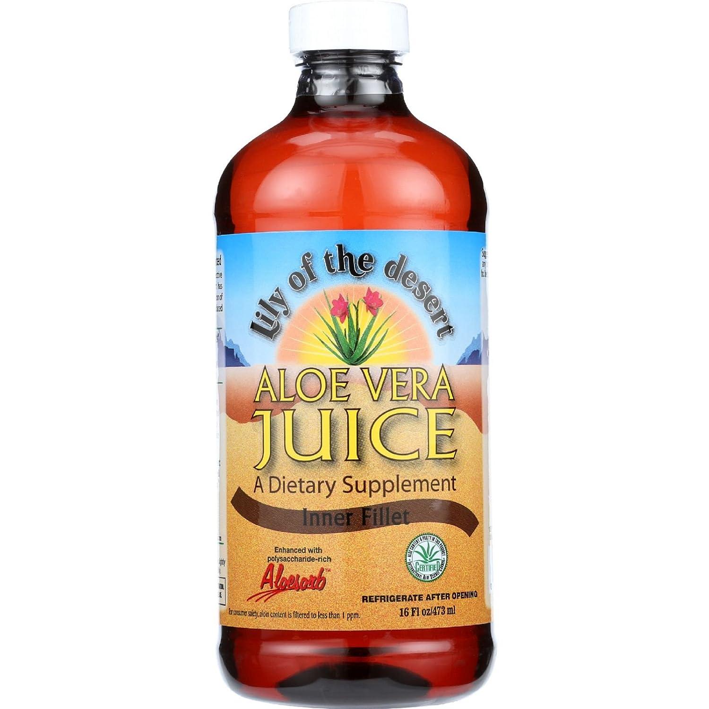海外直送肘 Aloe Vera Juice, 16 oz B019G9OZ2O