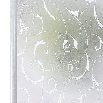 Homein Fensterfolie Sichtschutzfolie Milchglasfolie Selbstklebend ...