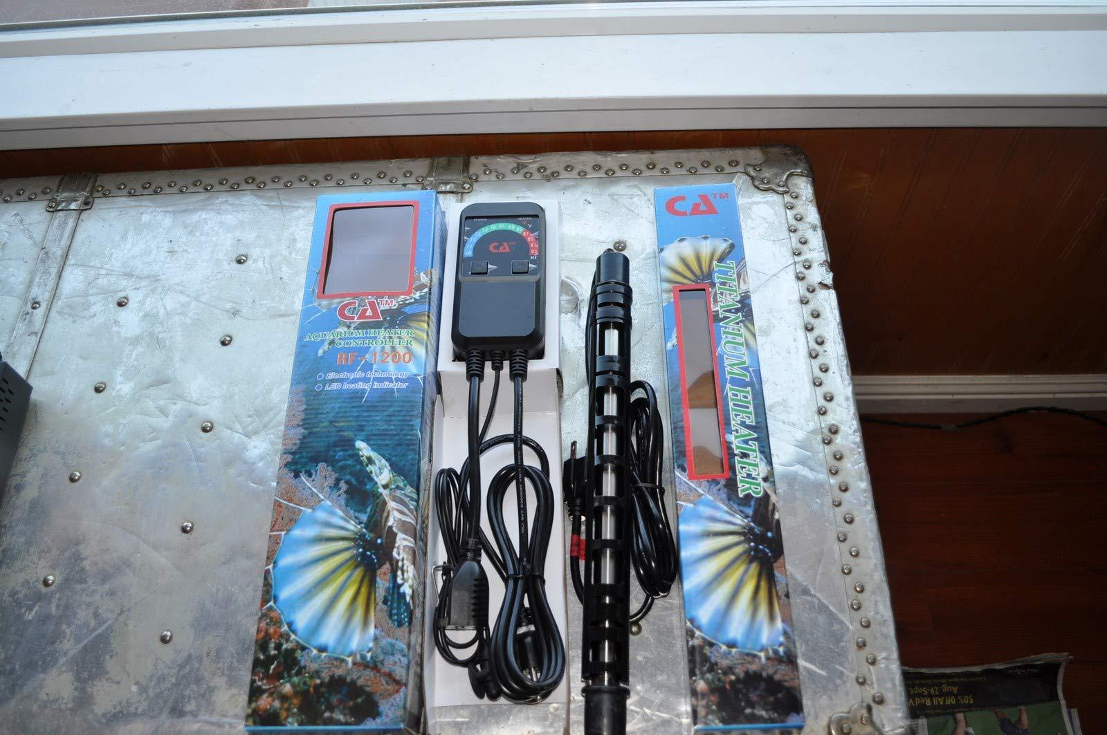 800 Watt Catalina Titanium Aquarium Heater and Controller by Unknown