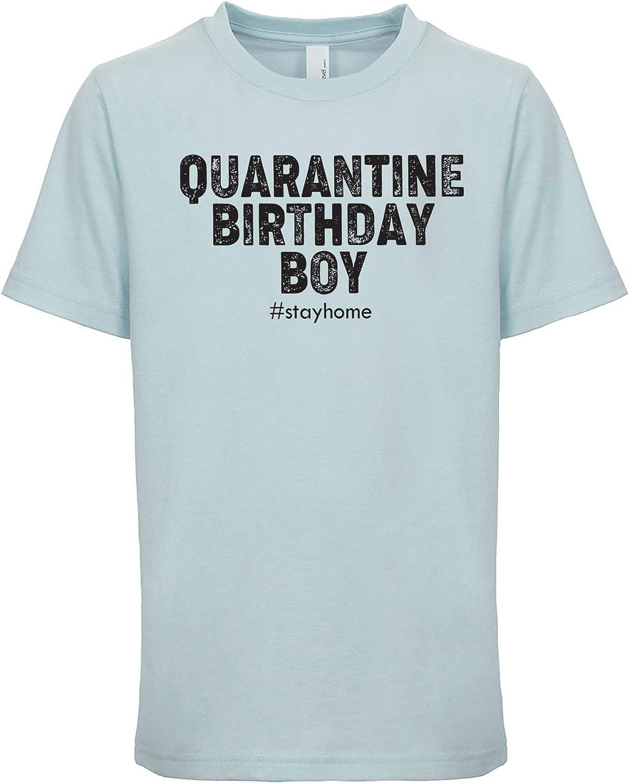feresline Quarantine Birthday boy Birthday Shirt boy Youth quarantined t Shirt Unisex SDC6