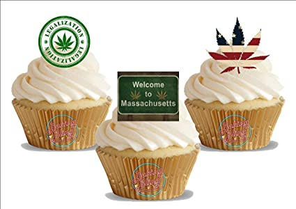 Amazon Com Massachusetts Stoner Weed Mix Fun Novelty Birthday