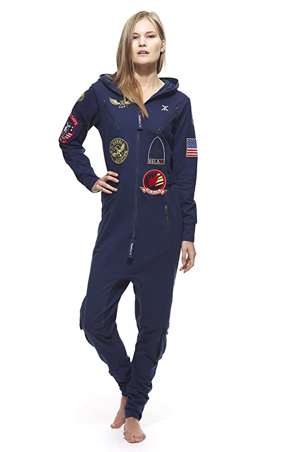 1aefbbbccf OnePiece Men s Aviator Onesie Navy XX-Small  Amazon.co.uk  Clothing