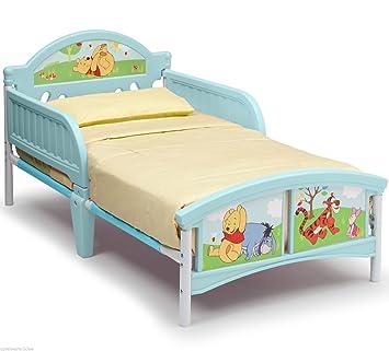 Kinderbett Puuh Bär 140x70 cm Kindermöbel Möbel Disney Winnie Pooh Bett ab  18m