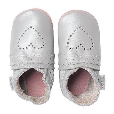 Bobux Chaussure Bébé - Sweet Heart Argenté - Taille M