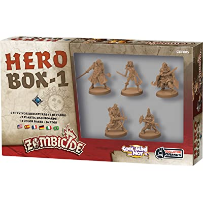 Zombicide: Black Plague Hero Box 1 Board Game: Toys & Games