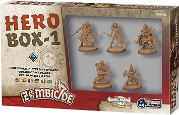 Asmodée – UBIZBP05 – Zombicide – Black Plague – Hero Box 1: Amazon.es: Juguetes y juegos