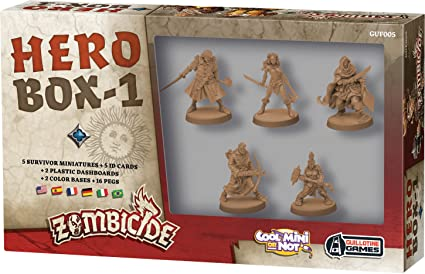 Asmodée – UBIZBP05 – Zombicide – Black Plague – Hero Box 1: Amazon.es: Juguetes y juegos