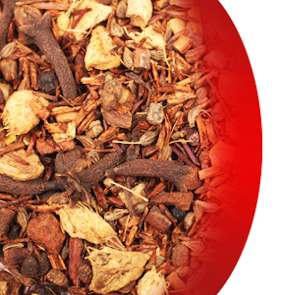 Wystone's Chai Rooibos Tea – 40 servings - Naturally Caffeine Free Spiced Tea Originates from South Africa – This Antioxidant Rich Herbal Tea is Great for All Ages Wystone's Distribution