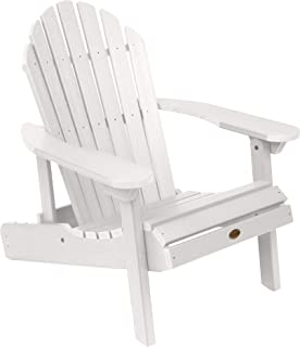 product image for Highwood AD-CHL1-WHE Hamilton Folding and Reclining Adirondack Chair, Adult Size, White