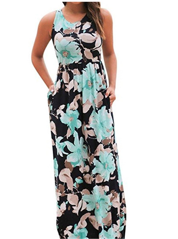c06aa695a Feature: Sleeveless Dress, Long Dress, Maxi Dress, Boho Dress, Floral Dress,  Summer Dress, Beach Dress, Tank Dress, Party Dress, Sundress, Plus Size ...