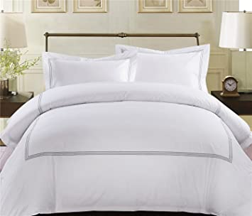 Amazoncom MARCOPOLO Egyptian Cotton Luxury Hotel Bedding - Bedding sets queen