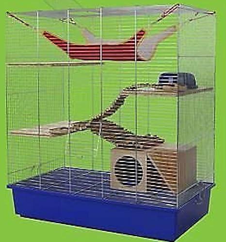Jaula para roedores, talla XXL, natural: Amazon.es: Productos para ...