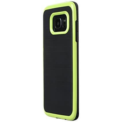Ultratec Funda Protectora de TPU/Carcasa para Samsung S7 y S7 Edge con diseño de Contrastes y Borde de Color