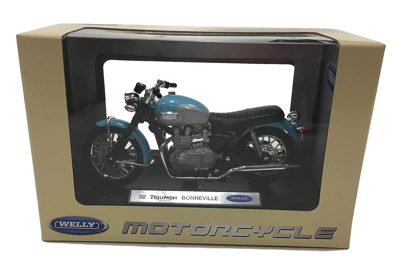 PABEN 3 Pezzi modellino Motocicletta in Scala 1:18 Una Norton Commando 961 da Collezione e bomboniera Due Triumph Bonneville T100